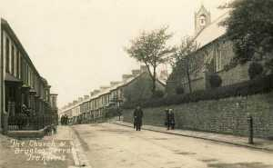 Glamorgan, Treharris Church and Brynteg Terrace 800 pix